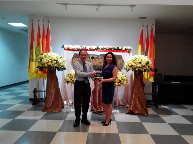 An ASEAN International Development Manager University College Cork (UCC), Ireland had a visit to King Mongkut's University of Technology Thonburi (KMUTT)