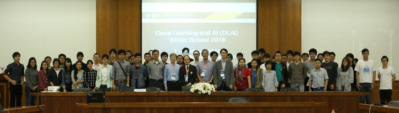 APNNS Advanced Forum Series: Deep Learning and Artificial Intelligence (DLAI) Winter School 2018: conducted from the 1st – 4th February 2018, at KMUTT, Bangkok, Thailand.