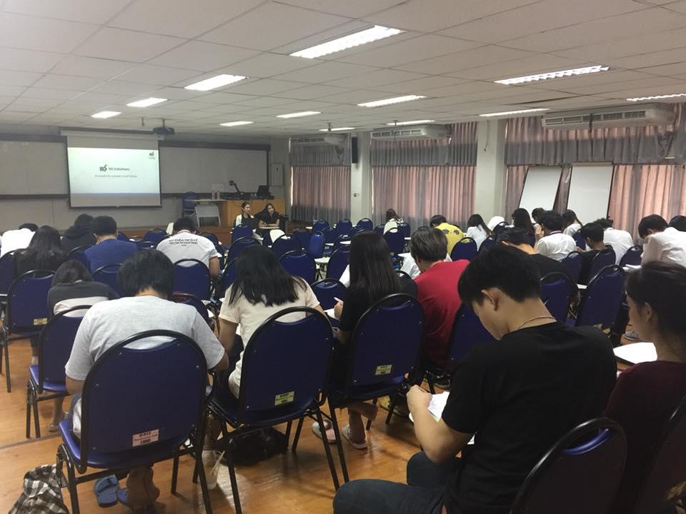 SIT ร่วมกับ Thai NS Solutions จัดกิจกรรมรับสมัครงาน